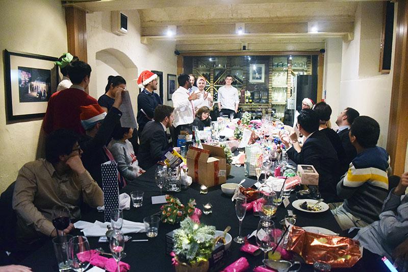 group christmas dinner 2018 1